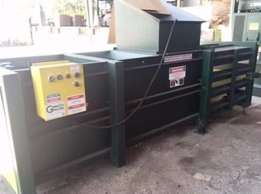 Heavy duty horizontal baler for sale at very good price