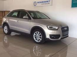Audi Q3 2.0 Tdi Quattro Auto spotless and still under plan for sale in