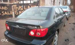 Newly Cleared Foreign Used 2005 Toyota Corolla