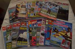 "25-off ""Model aircraft magazines inc RCM&E etc"