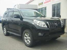 Solid Black Toyota Landcruiser Prado( TX L Package with Sunroof)