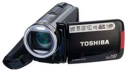 Toshiba full hd video camera TOUCH SCREEN