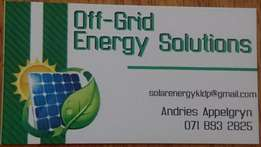 Solar sales & installations