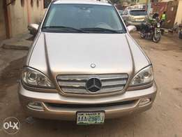 ML320. 2004 registered