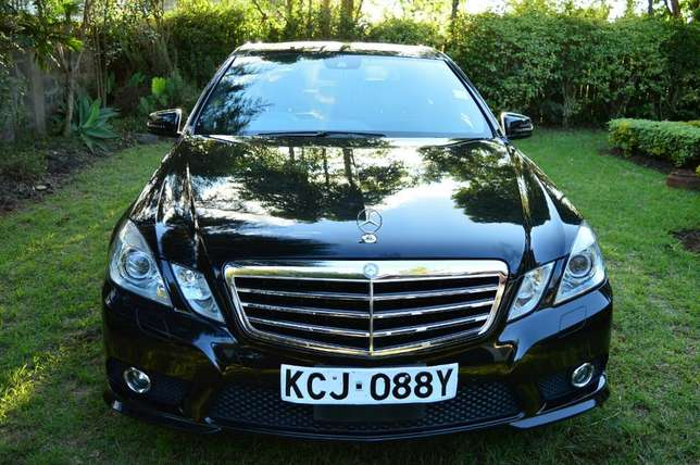Glossy Black Mercedes E250 CGI AMG Sport Package. Call Owner Directly Lavington - image 2