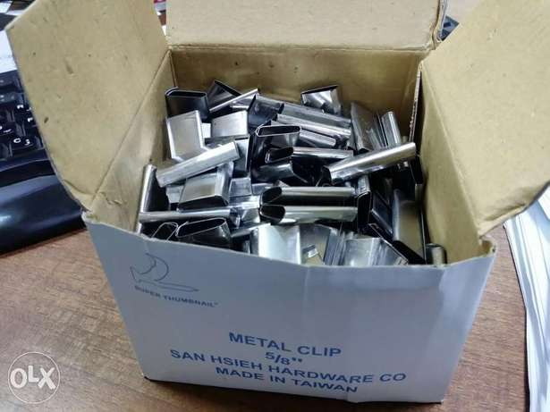 """Clips 5/8"""" Strapping Omr2.500"""
