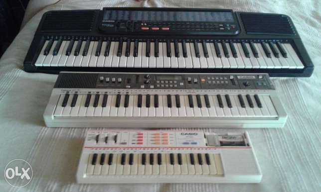 Casio Keyboards x 3 Tarlton - image 1