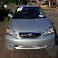 My super clean Toyota corolla 05 sport toks urgently for sale