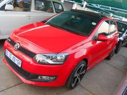 Polo 6 1.4 2014 model Red in color 13000km Mags sunroof R185000