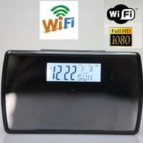 Wi-fi spy cctv clock at great prices