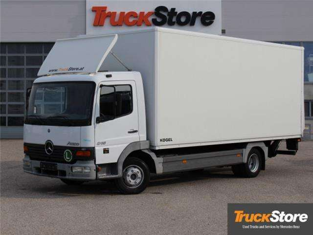 Niesamowite Mercedes-Benz Atego 815 - 2001 for sale | Tradus FA68