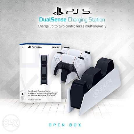 Dual Controller Charging Station with PS5