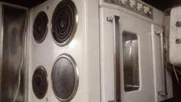 Defy 4plate stove and oven