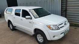 2006 Toyota Hilux double cab 4x4 4.0 V6 manual