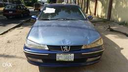 Registered 2003 Peugeot 406 Manual at Lagos Island with Chilling AC