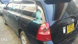 Toyota fielder 2003 model, 1500cc,owned by a lady