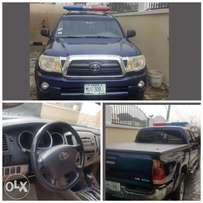 2006 Toyota Tacoma Navy Blue with Siren for Sale