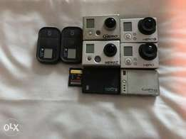 REAL BARGAIN. GoPro 3 Black and White and 2 others for FREE