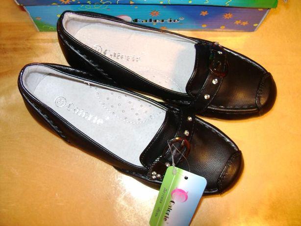 Новые туфли на девочку тм Calorie 31р-19 04fb2b419ca28
