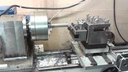 Staal draaibank/Lathe for sale