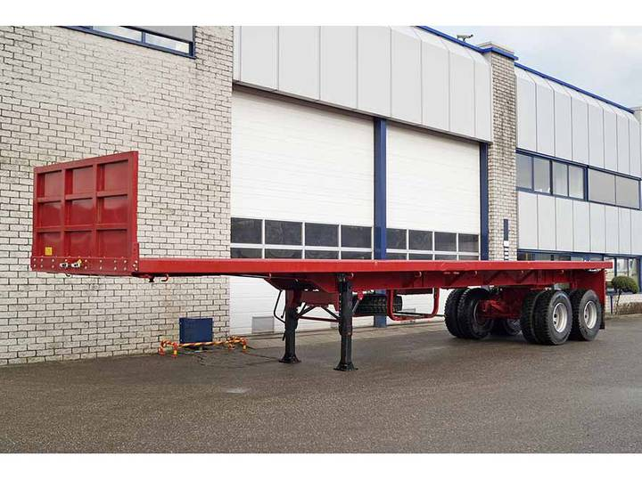 EUROMAX  40FT 2 AXLE FLATBED TRAILER (2 units)