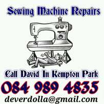 Sewing machines repair