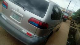 Toyota sienna second edition fabric