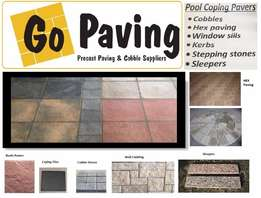 Precast cement paving stone, coping stone, tiles, cladding
