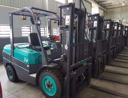 Diesel Forklift with Container Mast