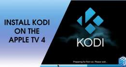Kodi android box apple tv installation