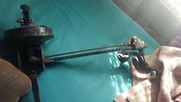 golf mk1 brake booster with arm and brake pedal r400