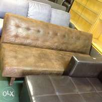 BRAND NEW imitation suede couch