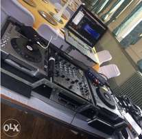 Decks For Hire PA system available
