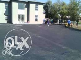 Quality tar surface and paving