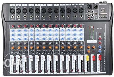 Mixer 12 channels