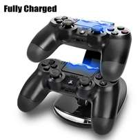 Dual charger for ps4 controller pads