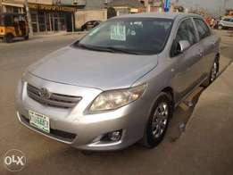Toyota Corolla 2009 model(manual)