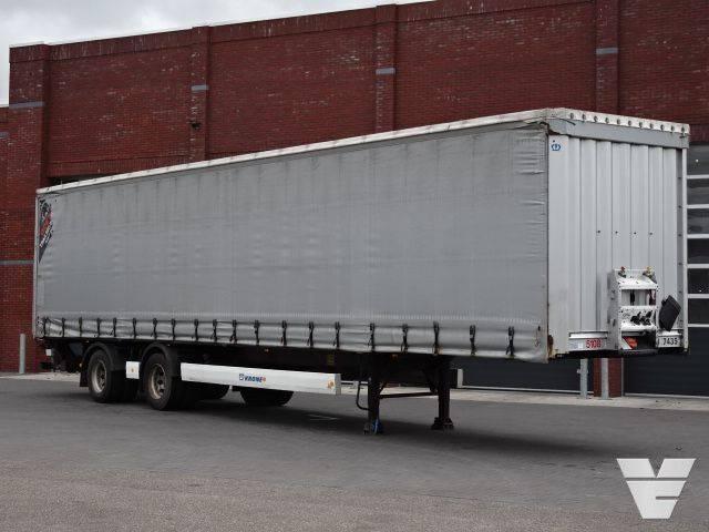 Krone SZP Steering axle / lift axle / loading board - 2013