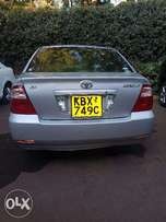 Silver good condition Toyota NZE KBX 2007, KES 670,000 Negotiable