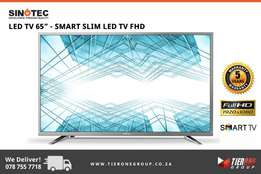 "Sinotec - 65"" SMART FHD LED TV - 5 Years Warranty"