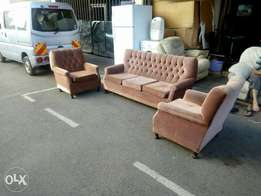 5 seater sofa set with Springs