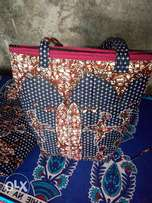 Classy kitenge bags and accesories