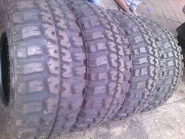 33x12.50/R15 on special each tyre is R2500 new