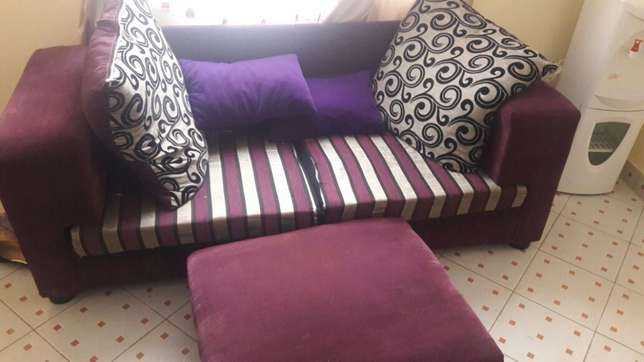 Classic sofa with a pouf. South B - image 1