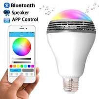 Smart Play Bulb, Android iOS App Controlled with Speaker_Latest TECH!