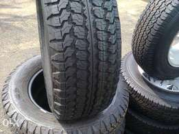 pickup tires 255 /65/ R17 Goodyear Wrangler