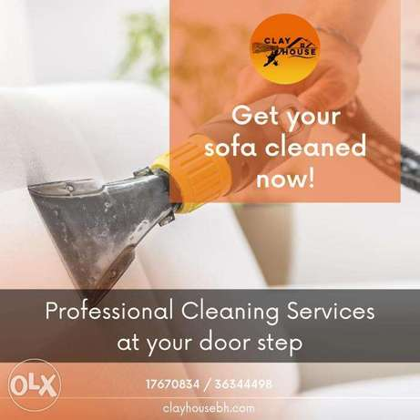Sofa Cleaning Only 3 dinar