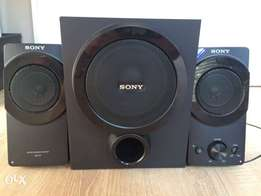 SONY SRS-D5, 2.1 speakers