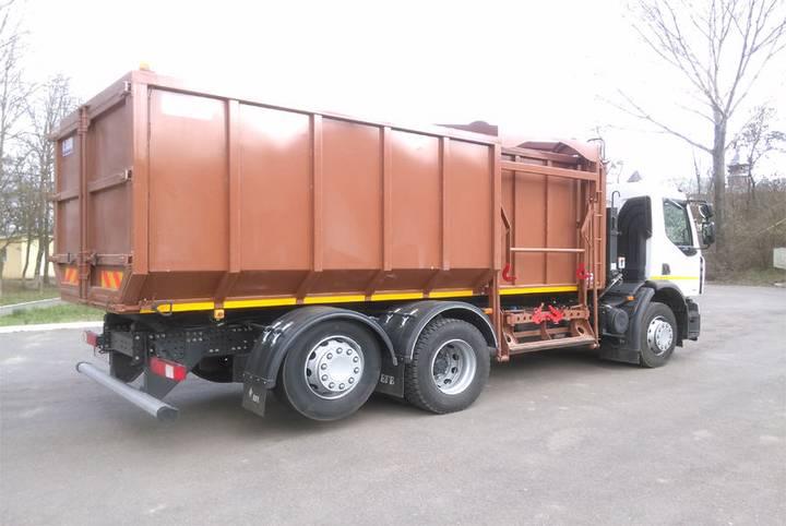 AUTOGUNOIERA pentru colectare sticla garbage truck