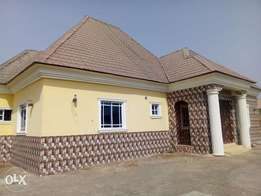 A well finished three bedroom flat at LFC lugbe
